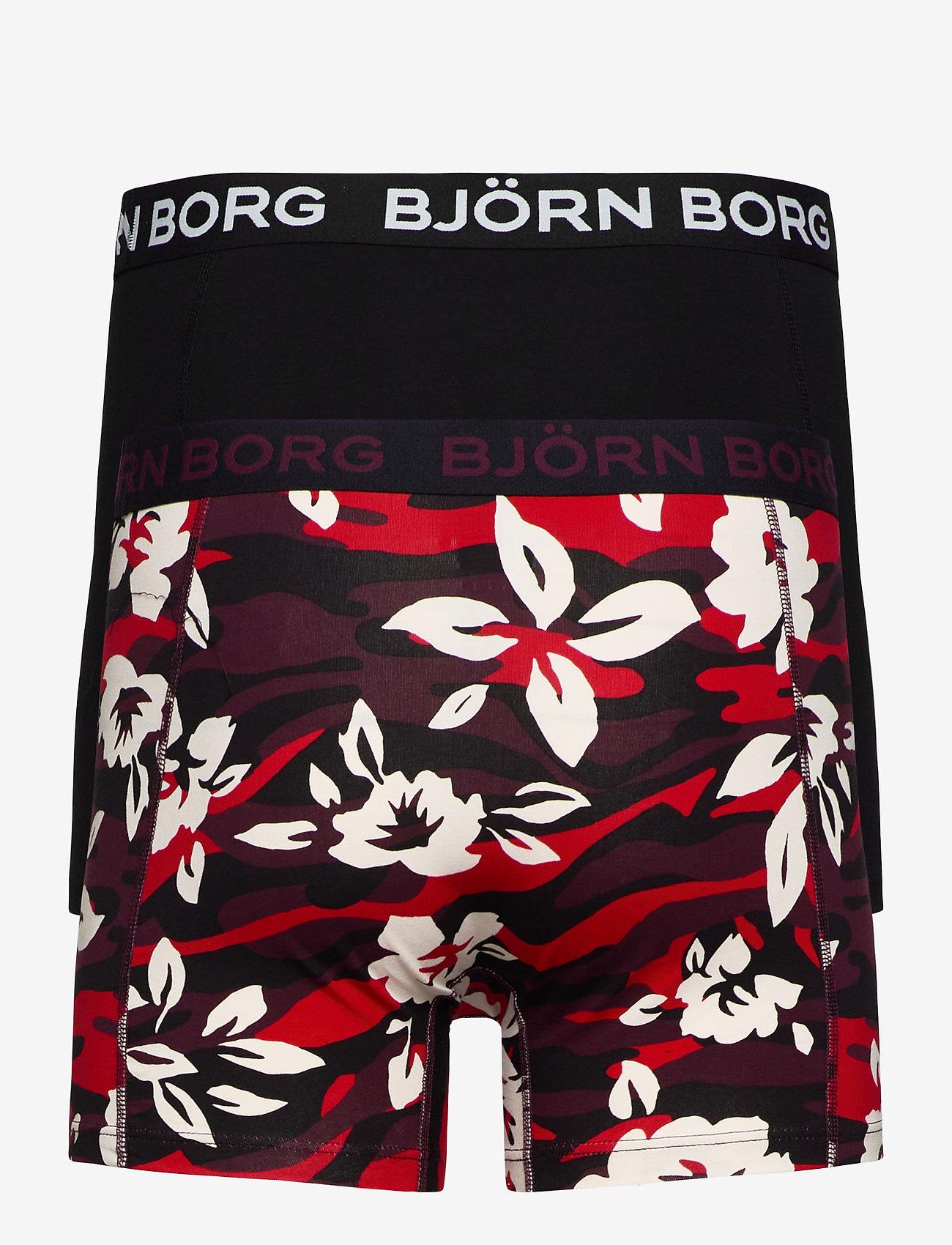Björn Borg SHORTS SAMMY BB CAMO FLORAL - Boxershortser WINETASTING - Menn Klær