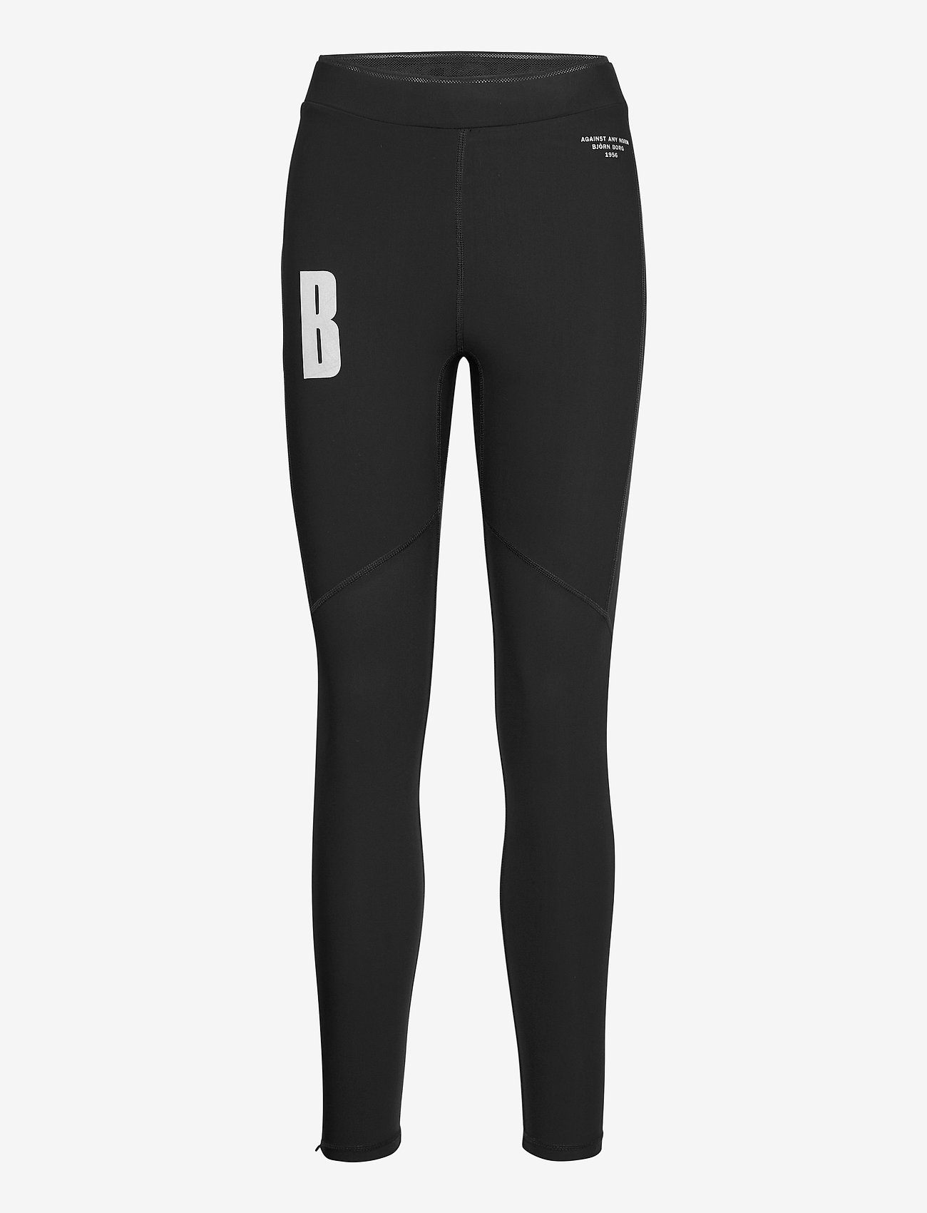 Björn Borg - TIGHTS W NIGHT NIGHT - running & training tights - black beauty - 0