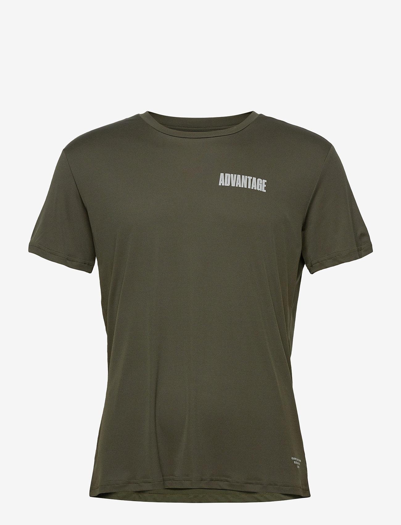 Björn Borg - PERF TEE M NIGHT NIGHT - t-shirts - rosin - 0