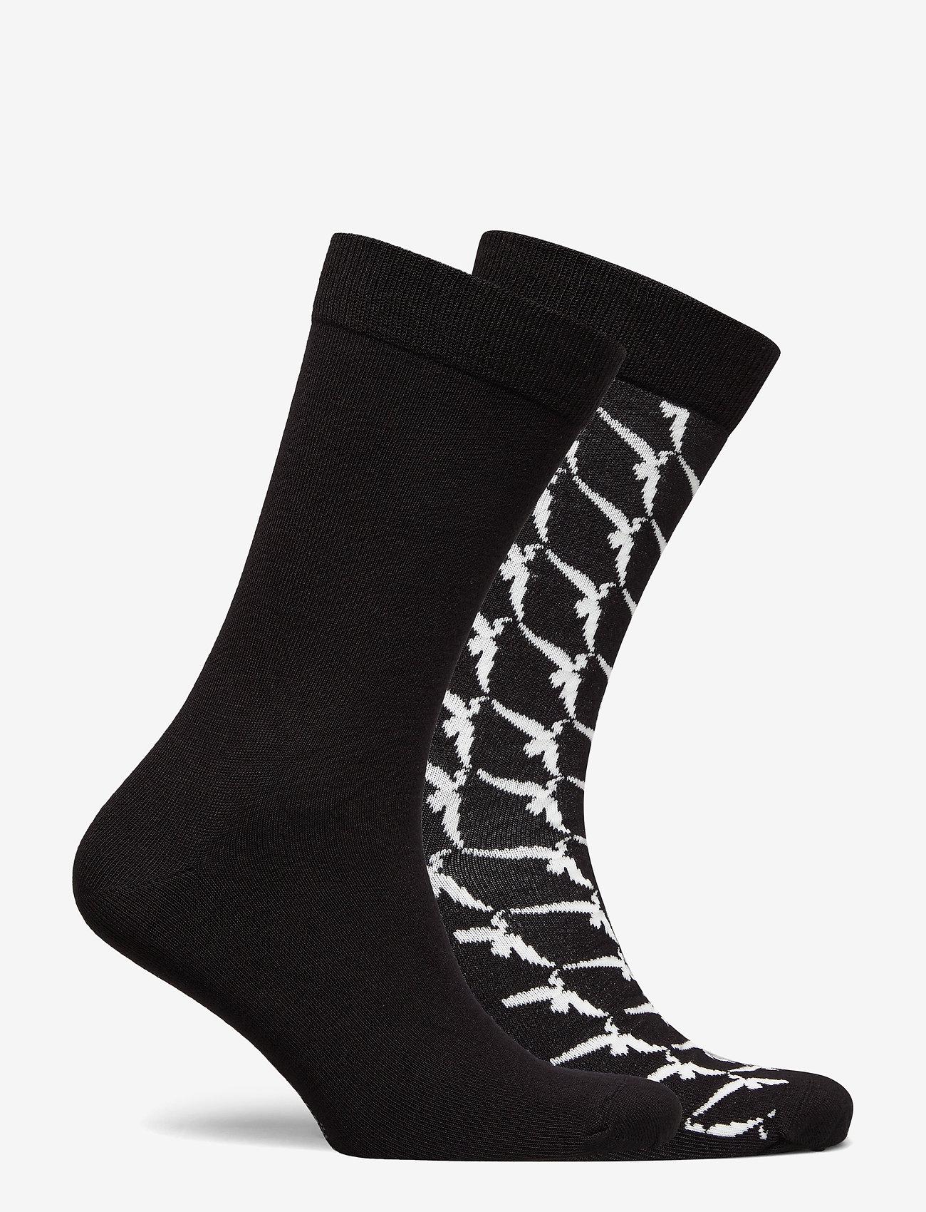 Björn Borg - SOCK ANKLE BB WINGSPAN - regular socks - black beauty - 1