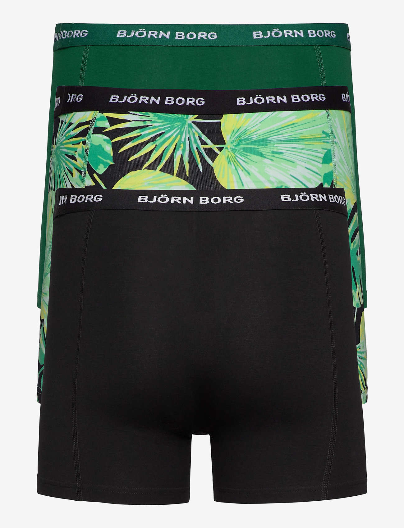 Björn Borg - SHORTS SAMMY BB LA GARDEN - boxers - black beauty - 1