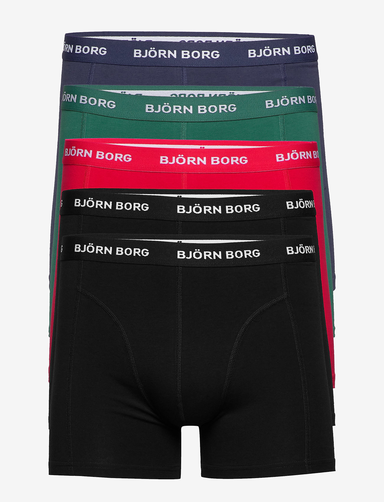 Björn Borg - SHORTS SAMMY SEASONAL SOLID - boxers - evergreen - 0