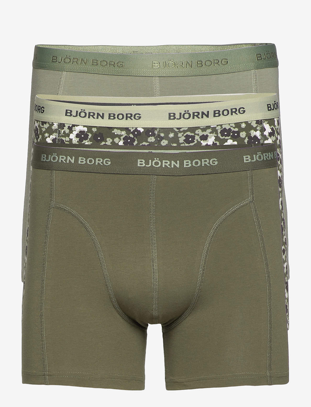 Björn Borg - SHORTS SAMMY BB DITSY FLOWER - boxers - forest night - 0