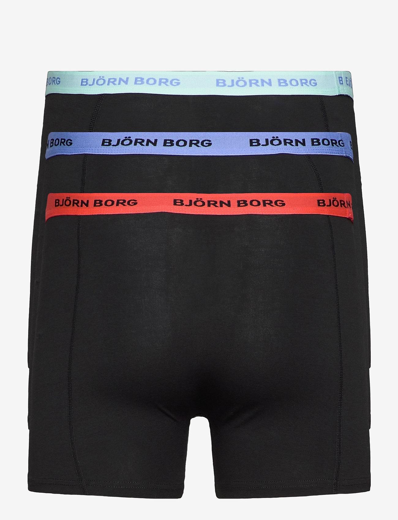 Björn Borg - SHORTS SAMMY SOLID MULTI - underwear - black beauty - 1