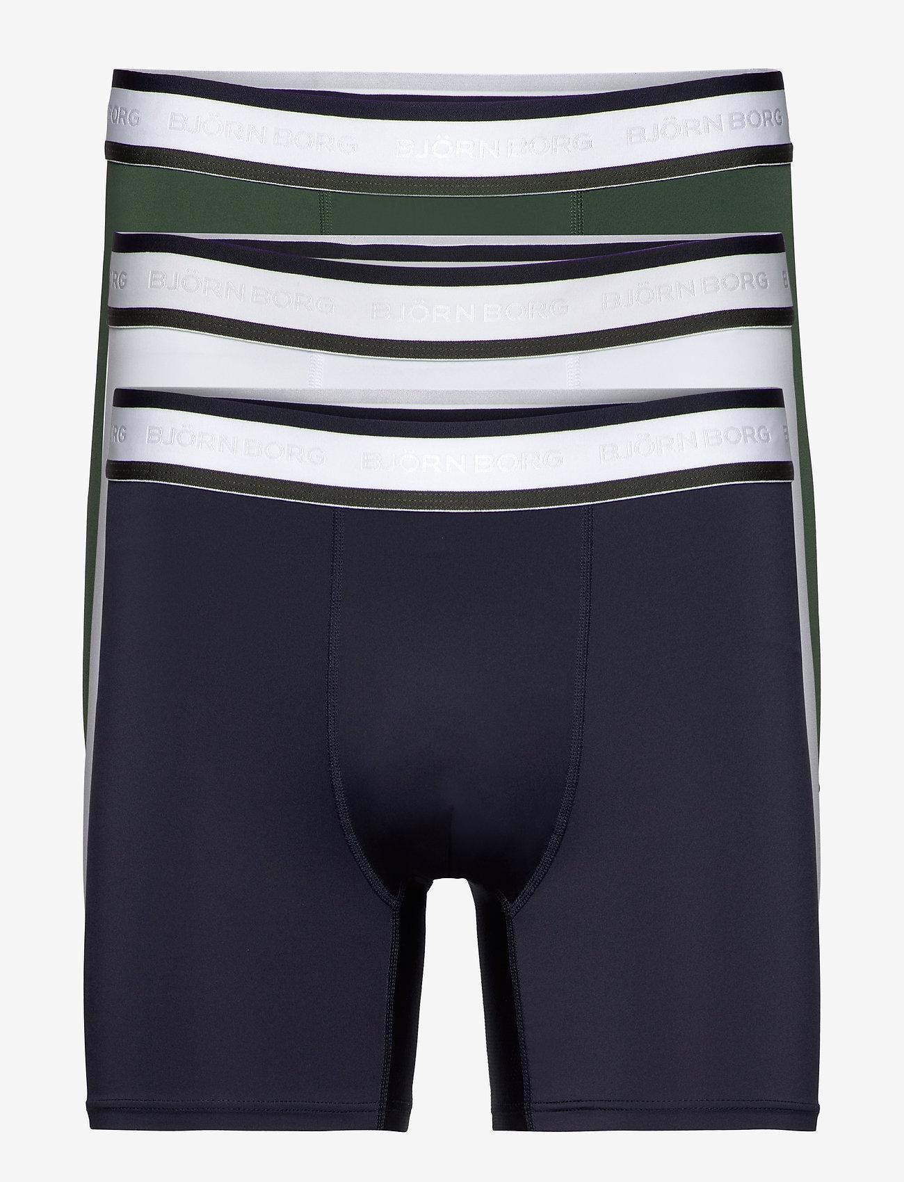 Björn Borg - SHORTS PHILIP BB TENNIS SOLIDS - underwear - sycamore - 0