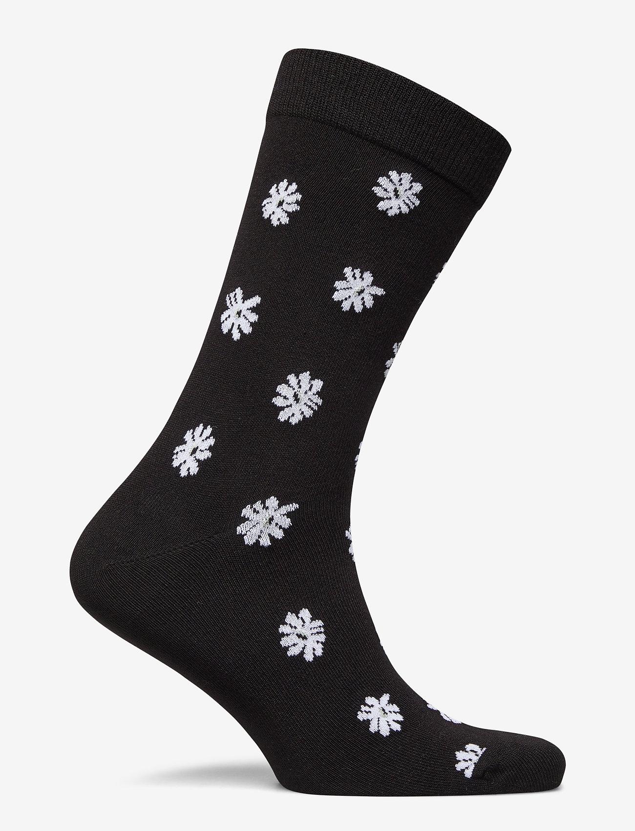 Björn Borg - SOCK ANKLE BB SIMPLE FLOWER - regular socks - black beauty - 1