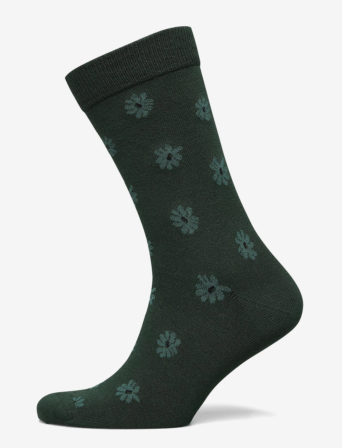 Björn Borg - SOCK ANKLE BB SIMPLE FLOWER - regular socks - sycamore - 0