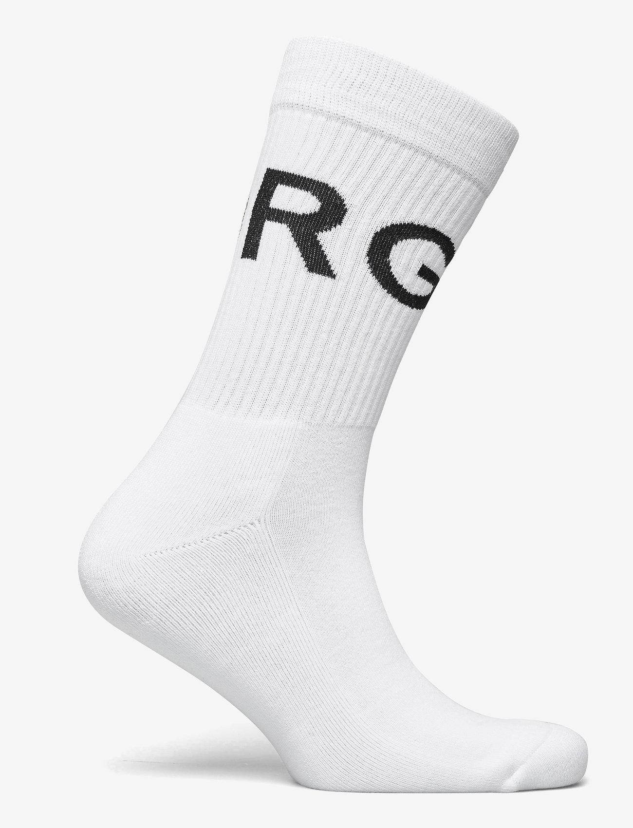 Björn Borg - SOCK ANKLE BB BORG STRIPE - regular socks - brilliant white - 1