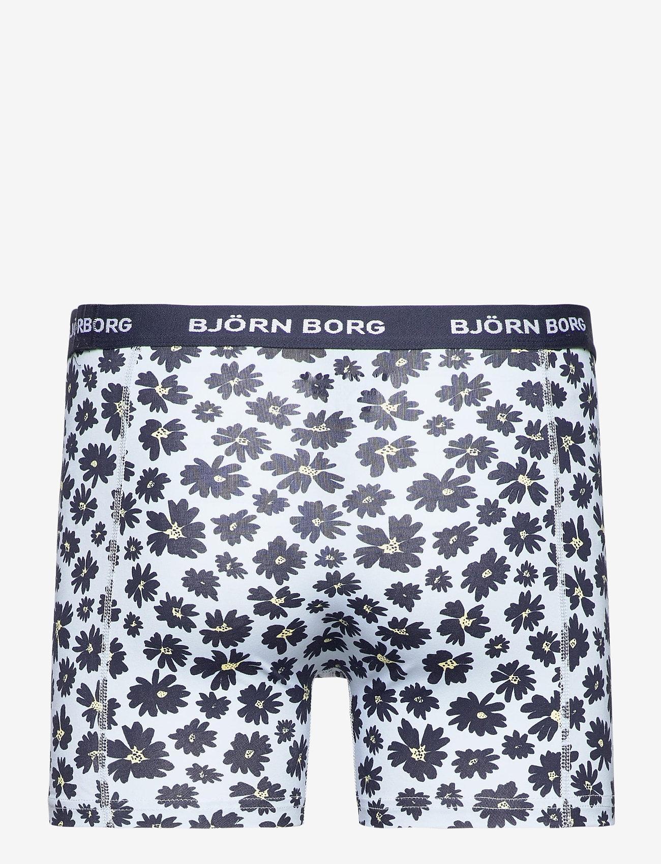 Björn Borg - SHORTS SAMMY BB FOURFLOWER - underwear - skyway - 1