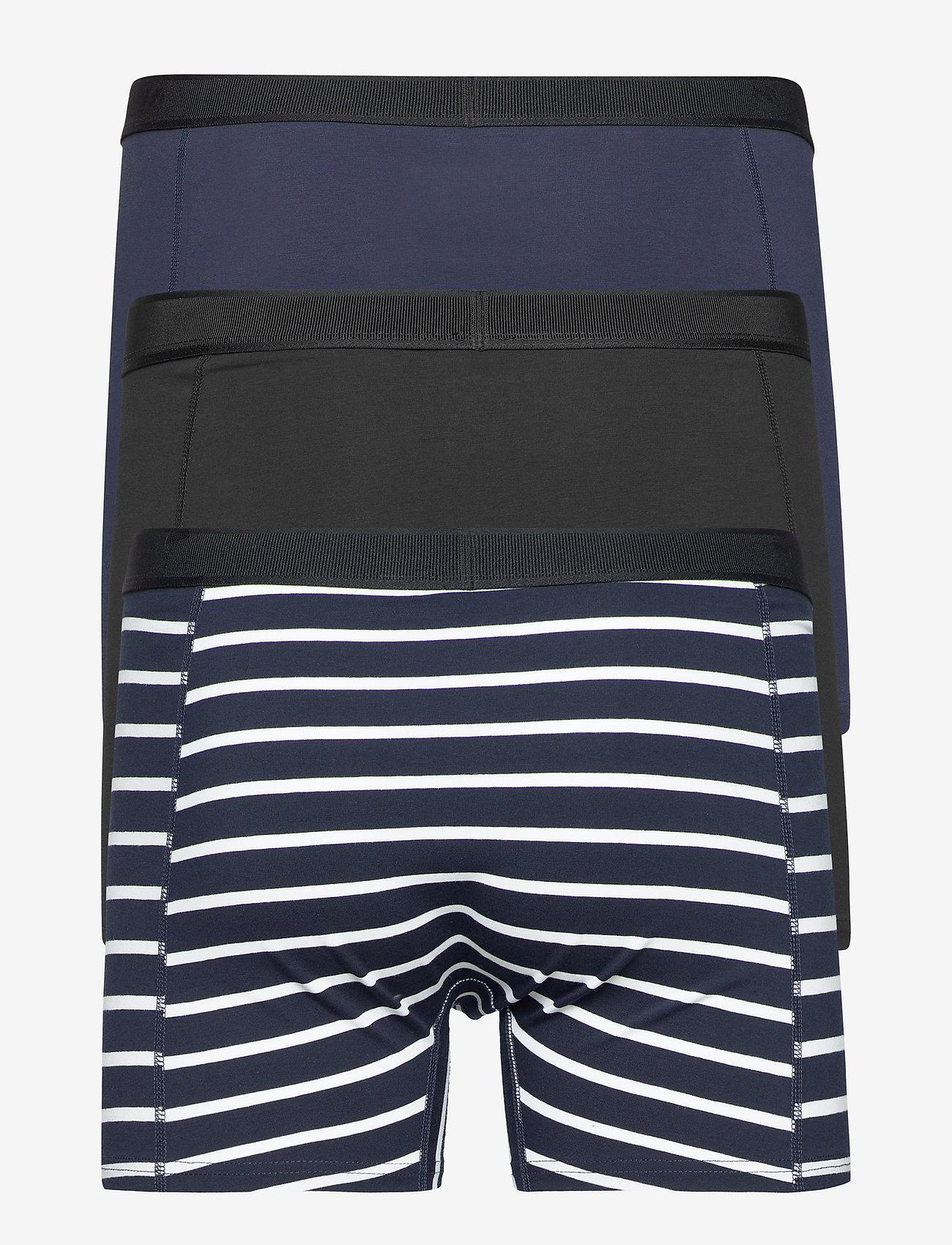 Björn Borg - SHORTS SAMMY BB SINGLE STRIPE - underwear - black beauty - 1