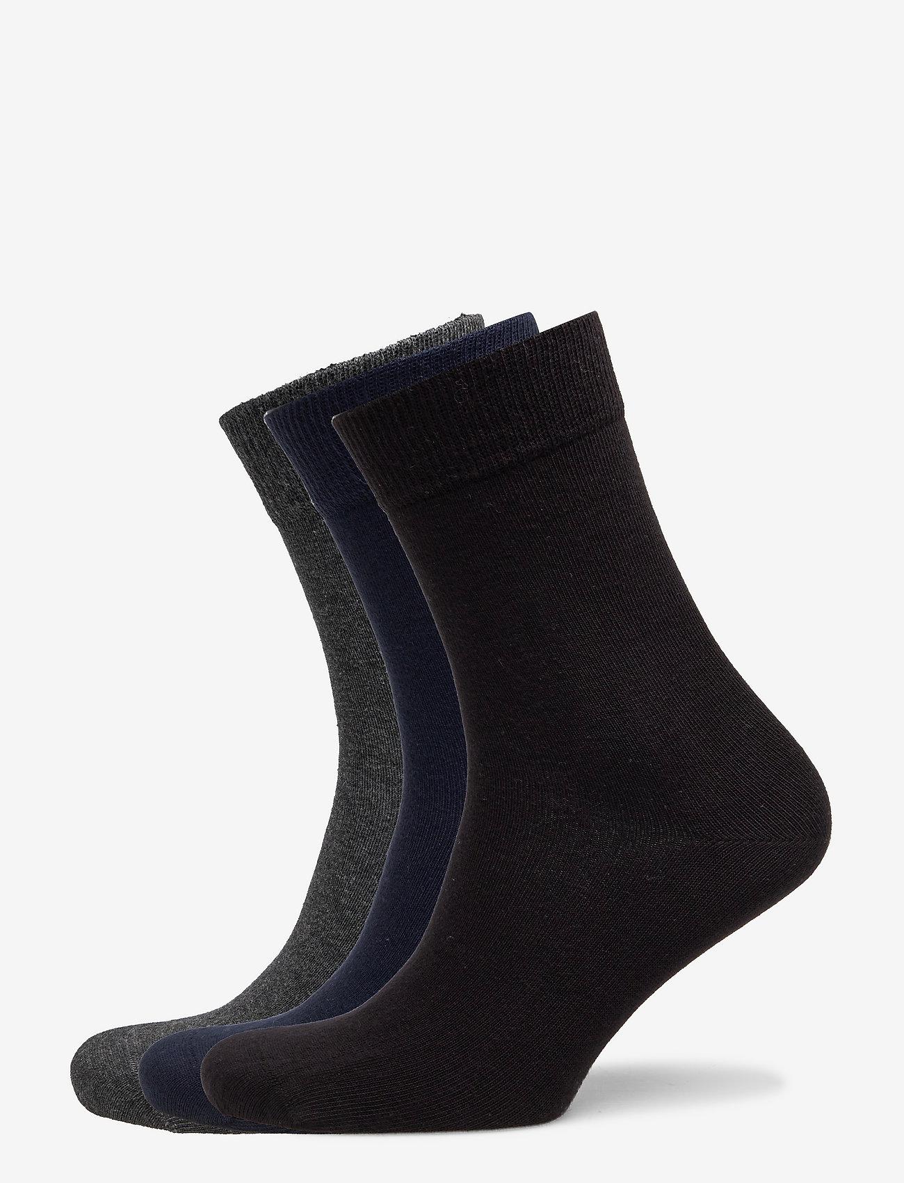 Björn Borg - SOCK ANKLE SOLIDS - regular socks - anthracite melange - 0