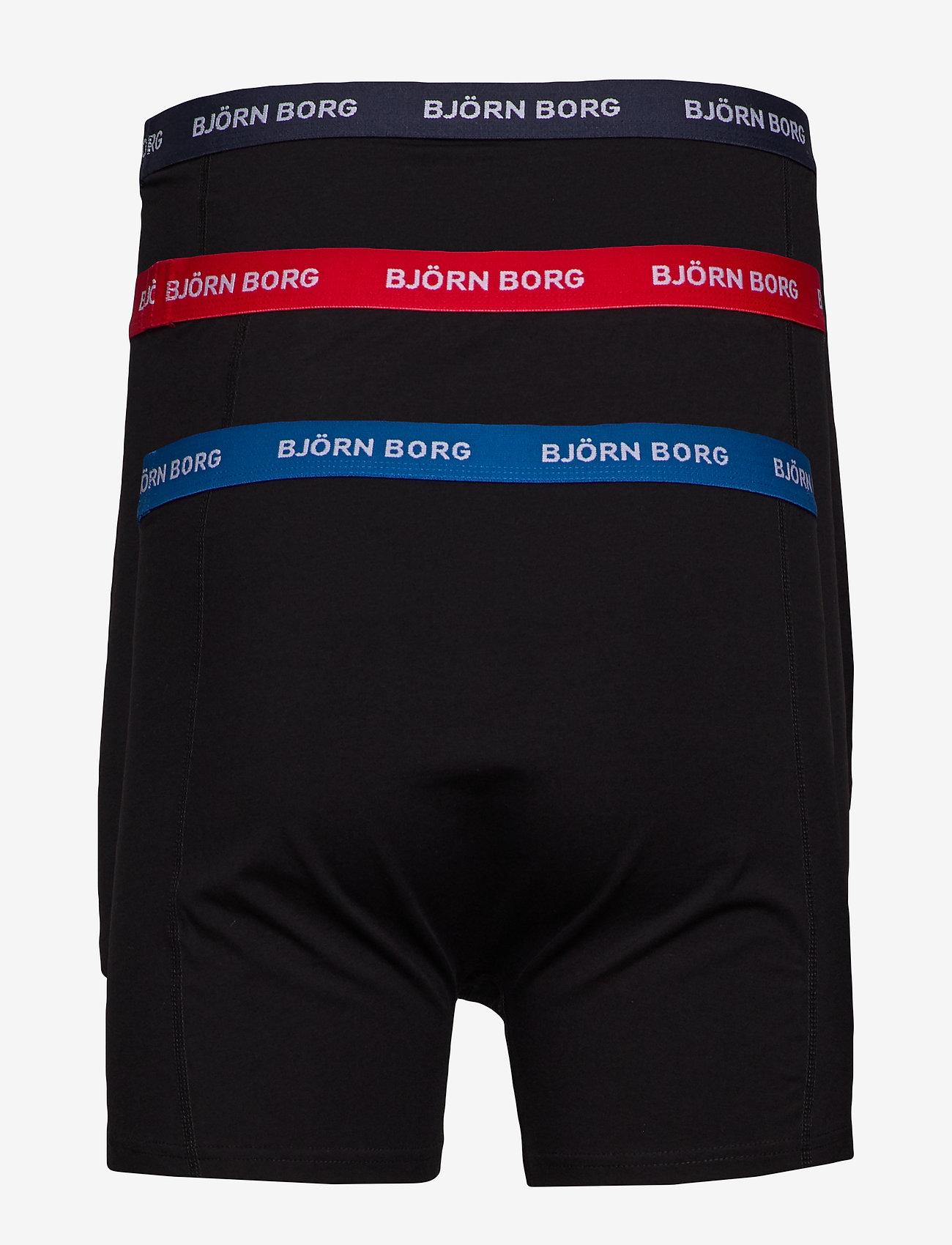 Björn Borg - SHORTS SAMMY NOOS CONTRAST SOLIDS - underwear - black - 1