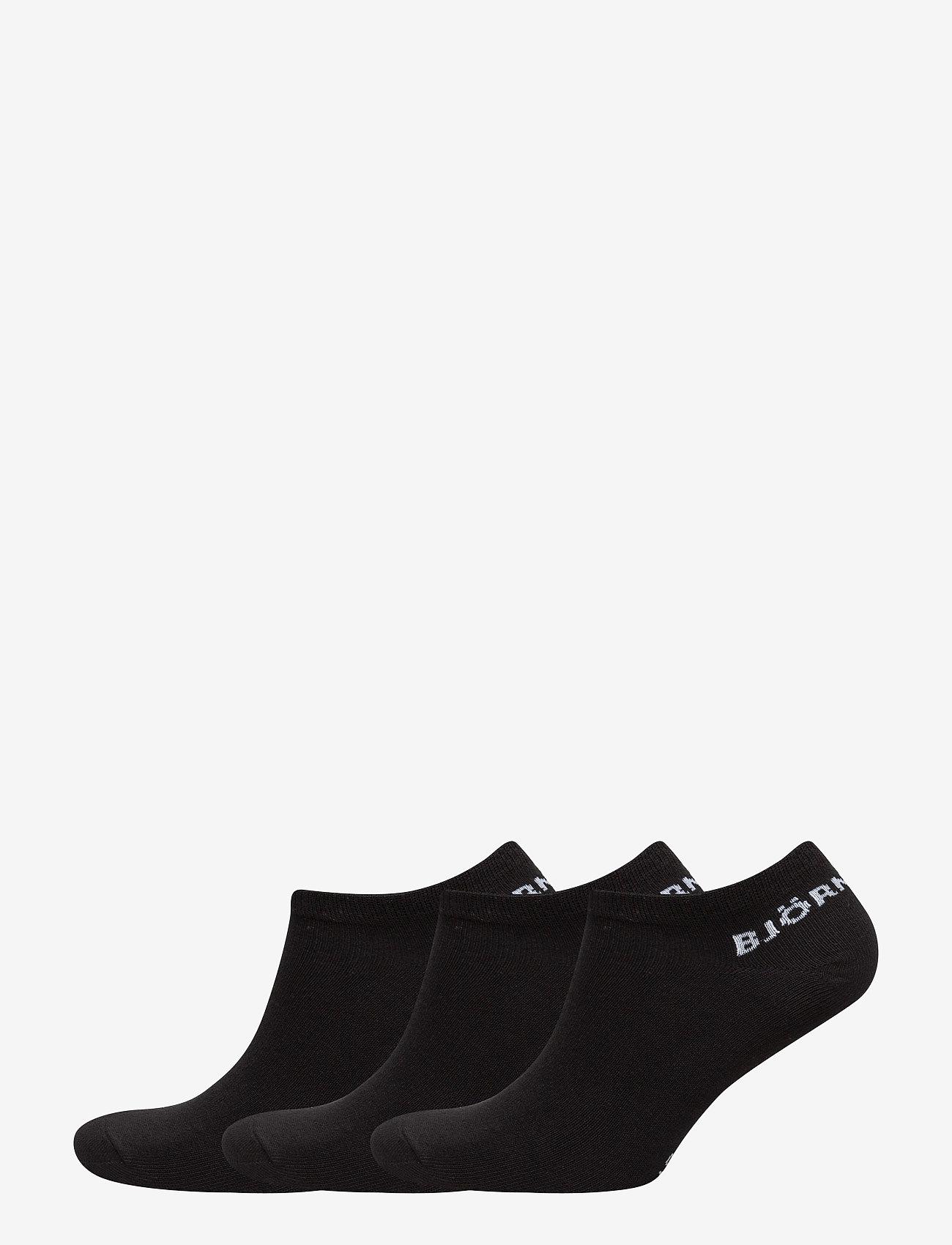 Björn Borg - SOCK ESSENTIAL 3p - chaussette de cheville - black - 0