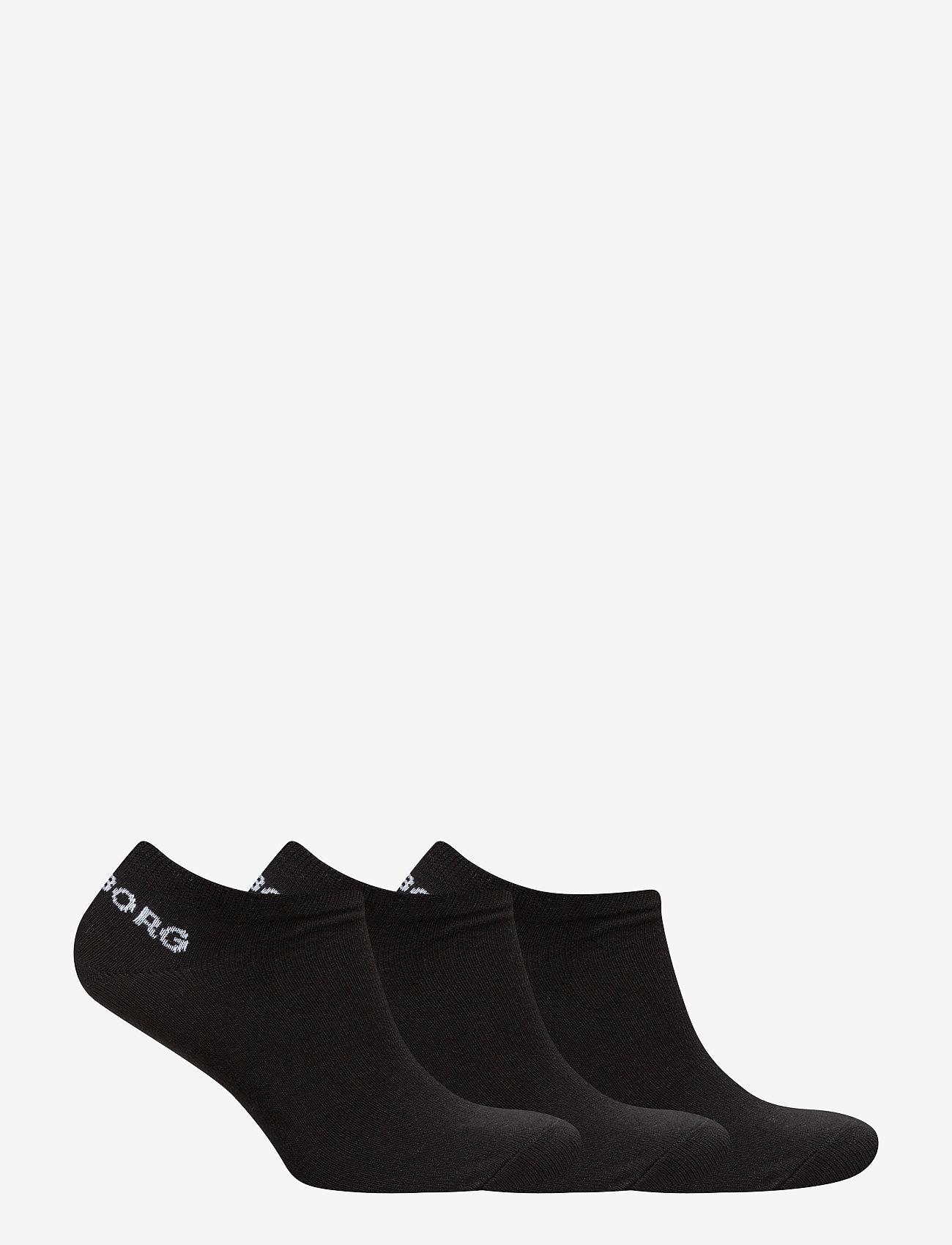 Björn Borg - SOCK ESSENTIAL 3p - chaussette de cheville - black - 1