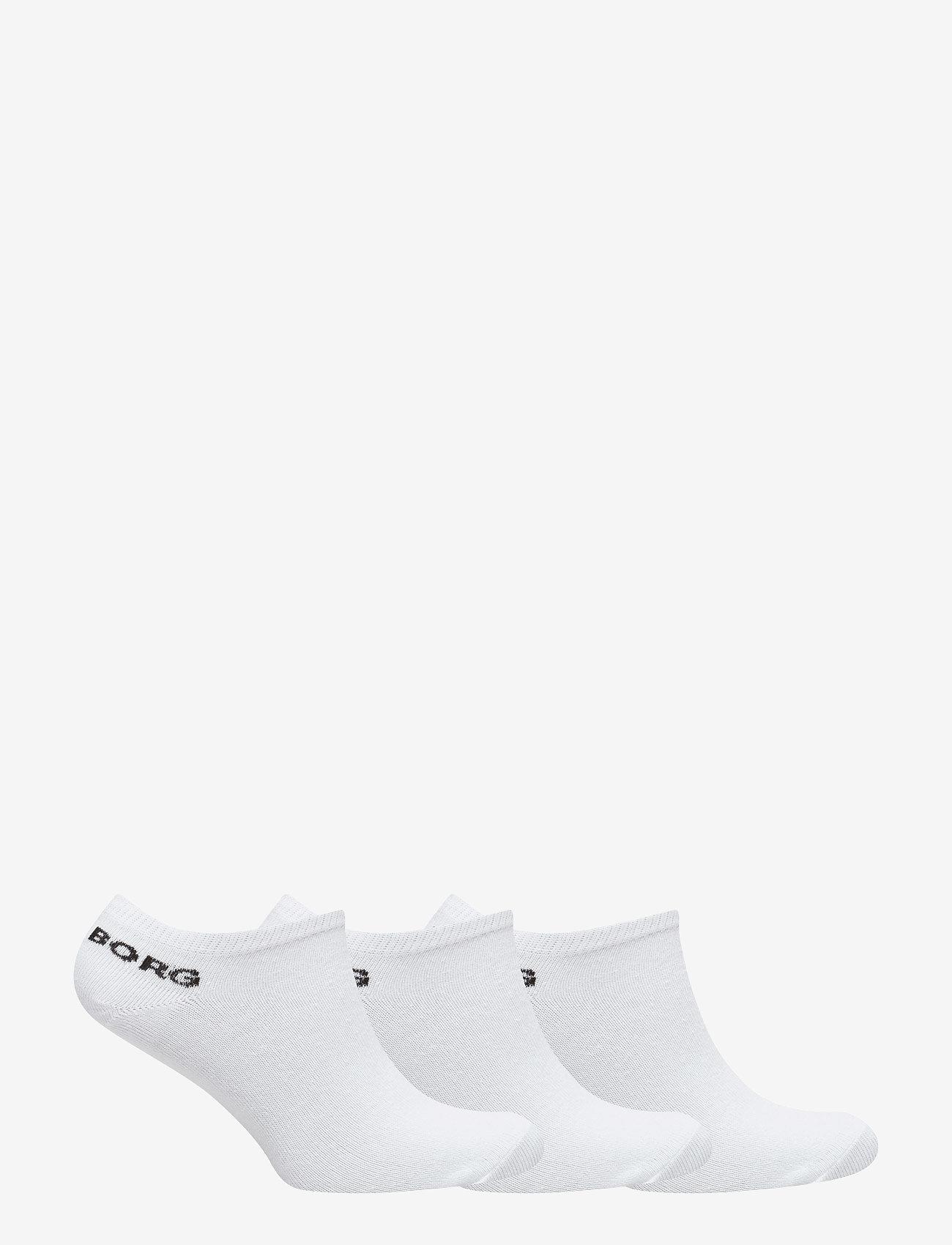 Björn Borg - SOCK ESSENTIAL 3p - gewone sokken - white - 1