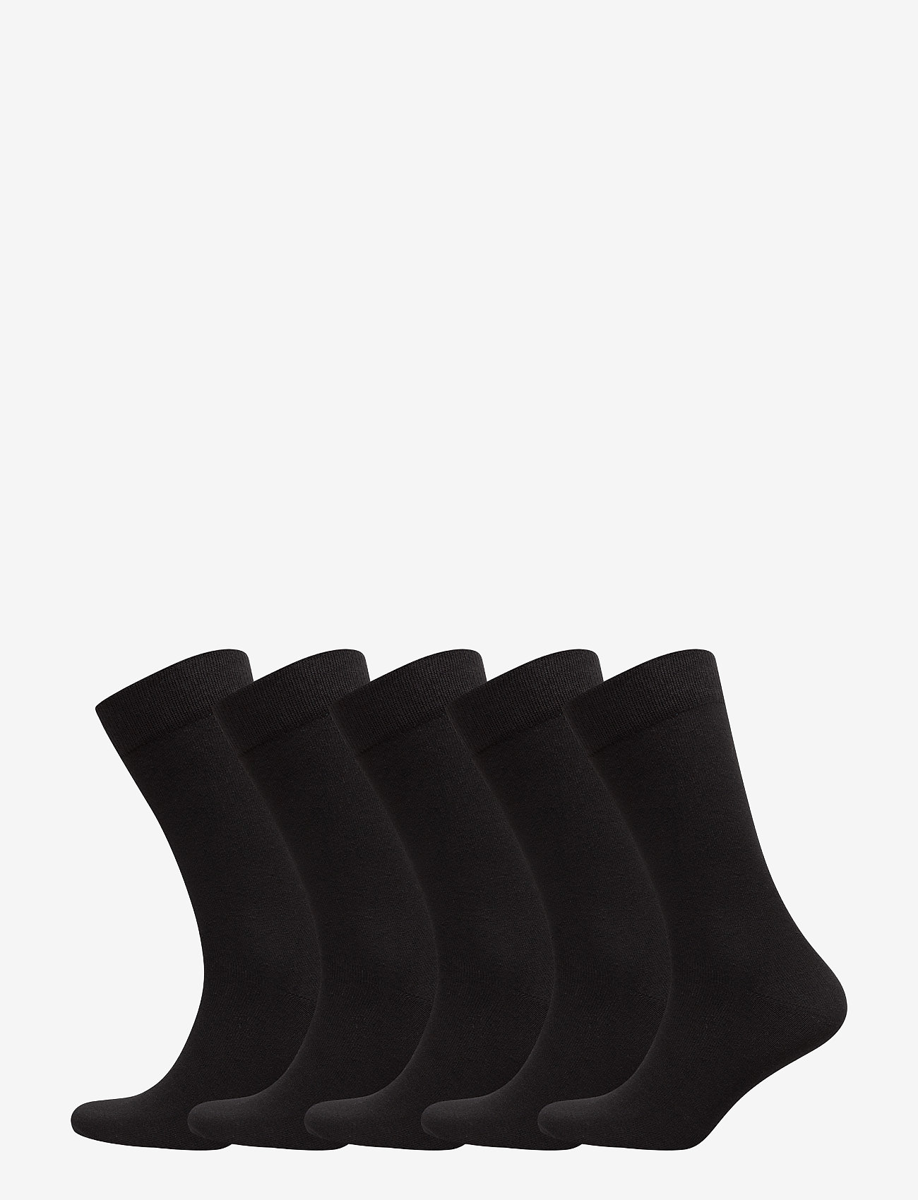 Björn Borg - 5p SOCK NOOS ESSENTIAL - regular socks - black - 0
