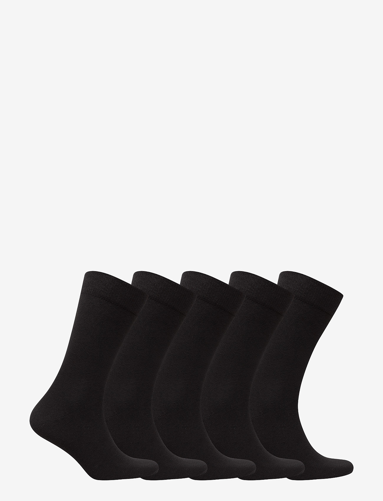 Björn Borg - 5p SOCK NOOS ESSENTIAL - regular socks - black - 1