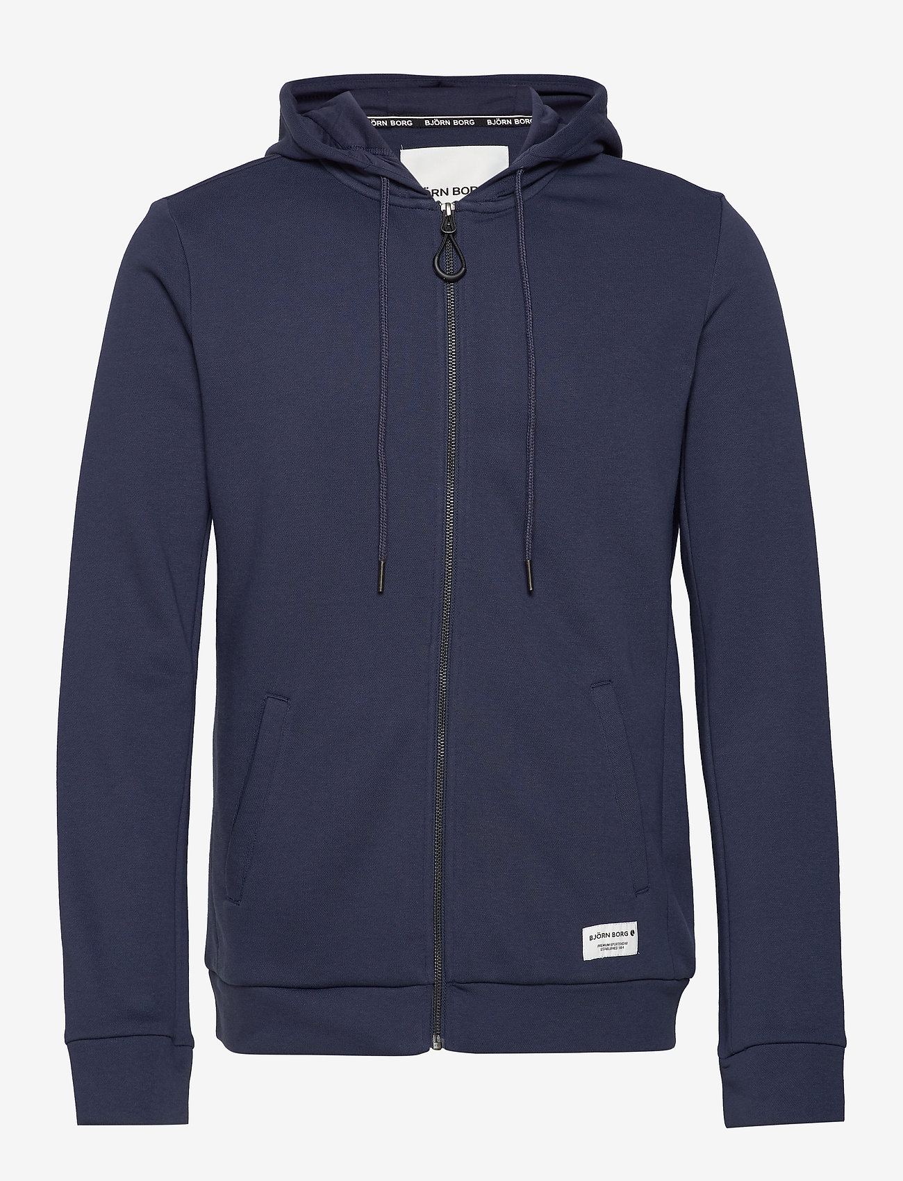 Björn Borg - HOODIE BBCENTRE BBCENTRE - pulls a capuche - peacoat - 0