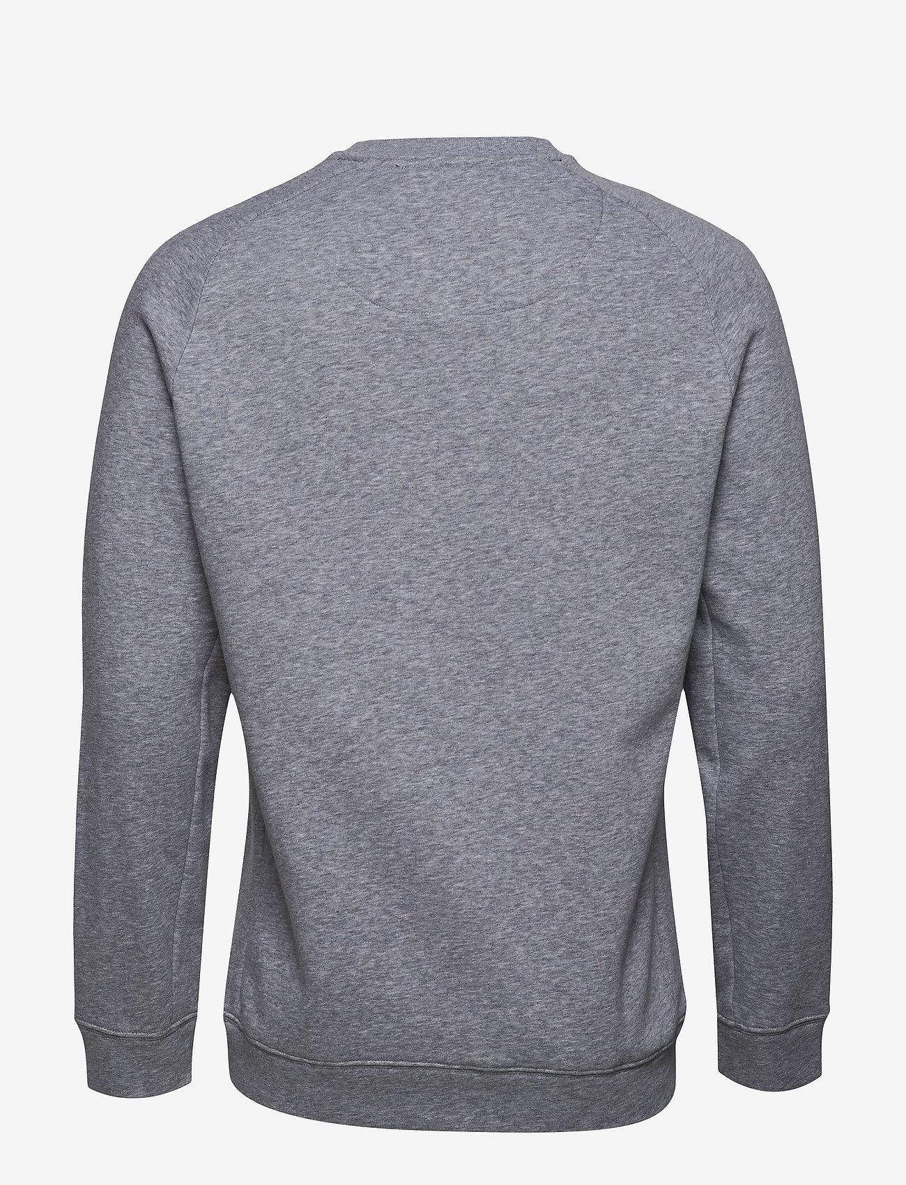 Björn Borg - CREW BBCENTRE BBCENTRE - sweatshirts - h108by light grey melange - 1