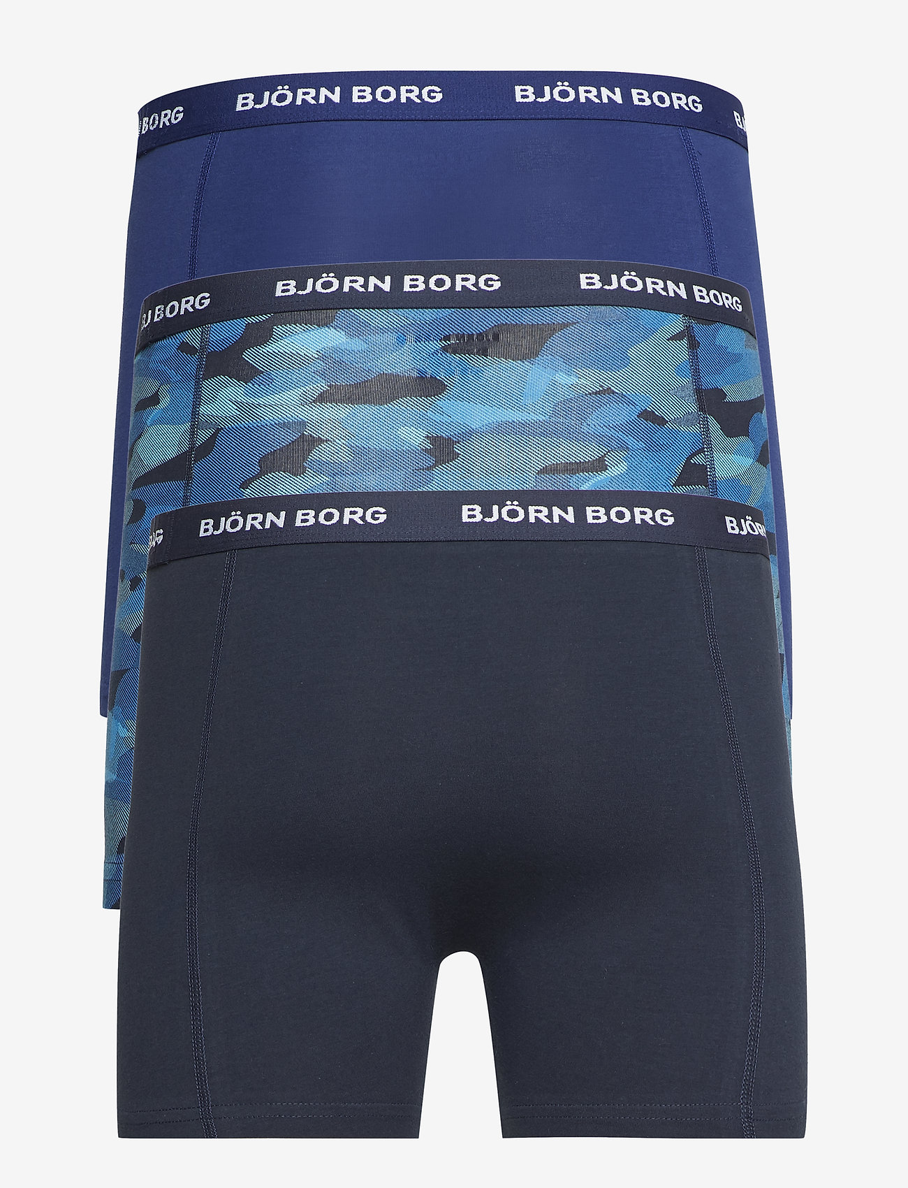 Björn Borg - SHORTS NOOS BB SHADELINE 3p - boxers - total eclipse - 1