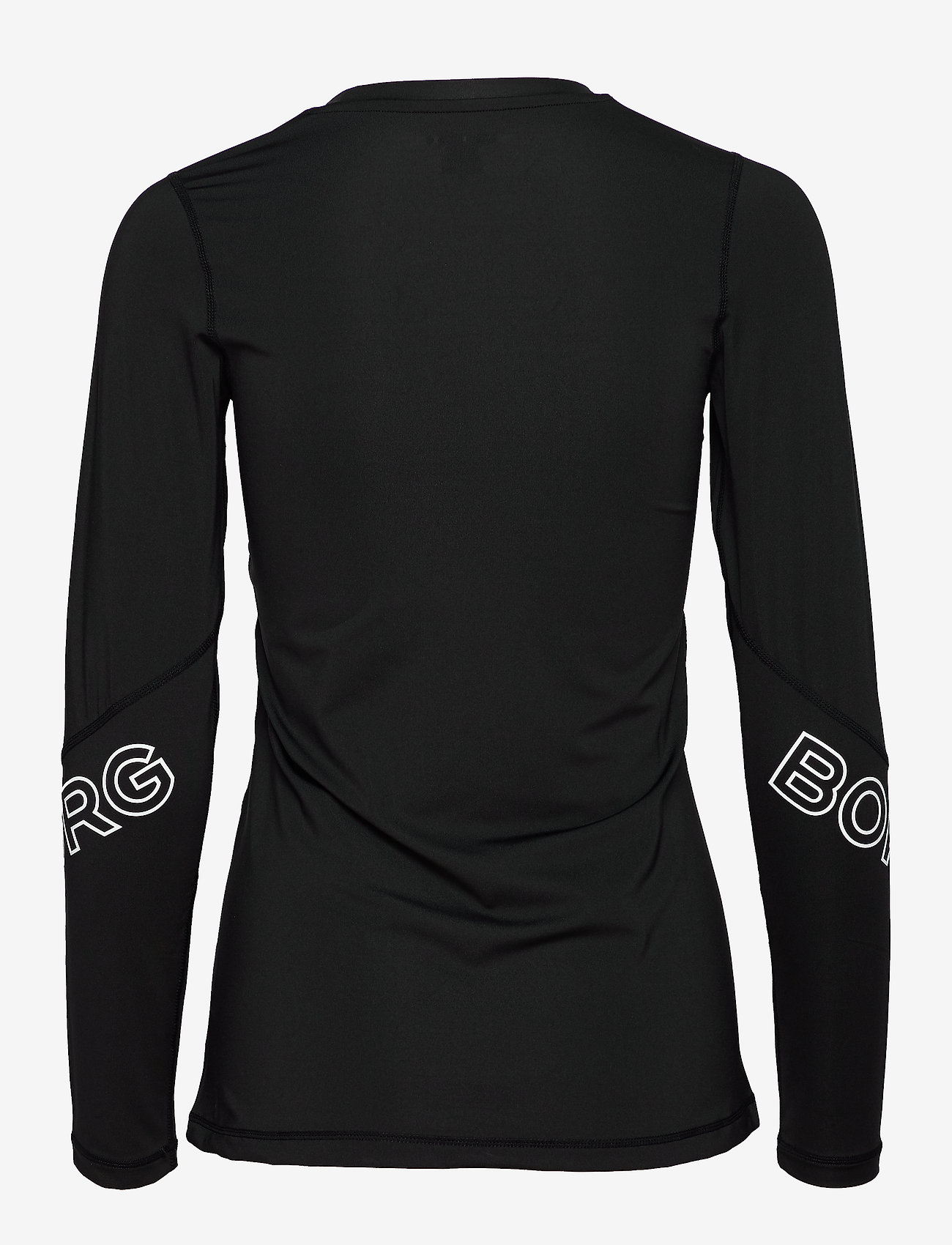 Björn Borg - CYNTHIA LS TEE - longsleeved tops - black beauty
