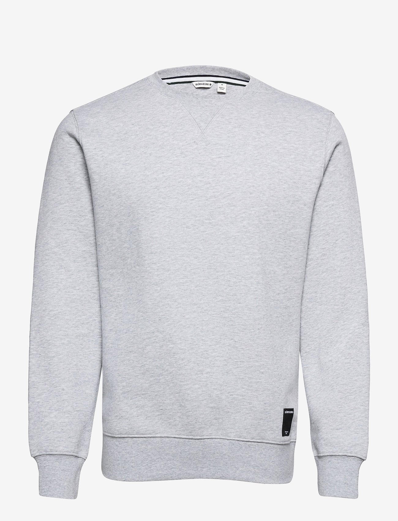 Björn Borg - CREW CENTRE CENTRE - basic sweatshirts - h108by light grey melange - 0