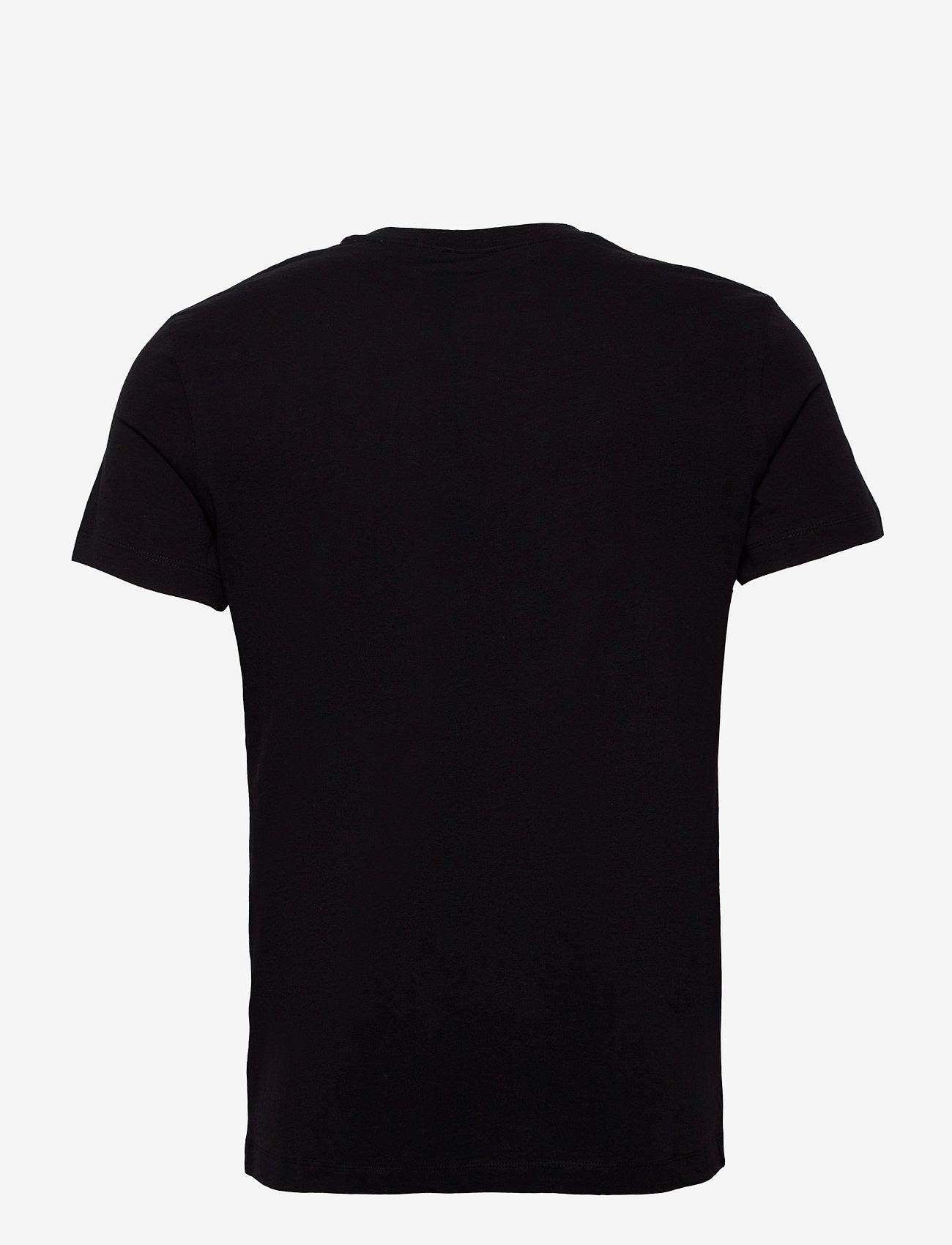 Björn Borg - TEE CENTRE CENTRE - basic t-shirts - black beauty - 1