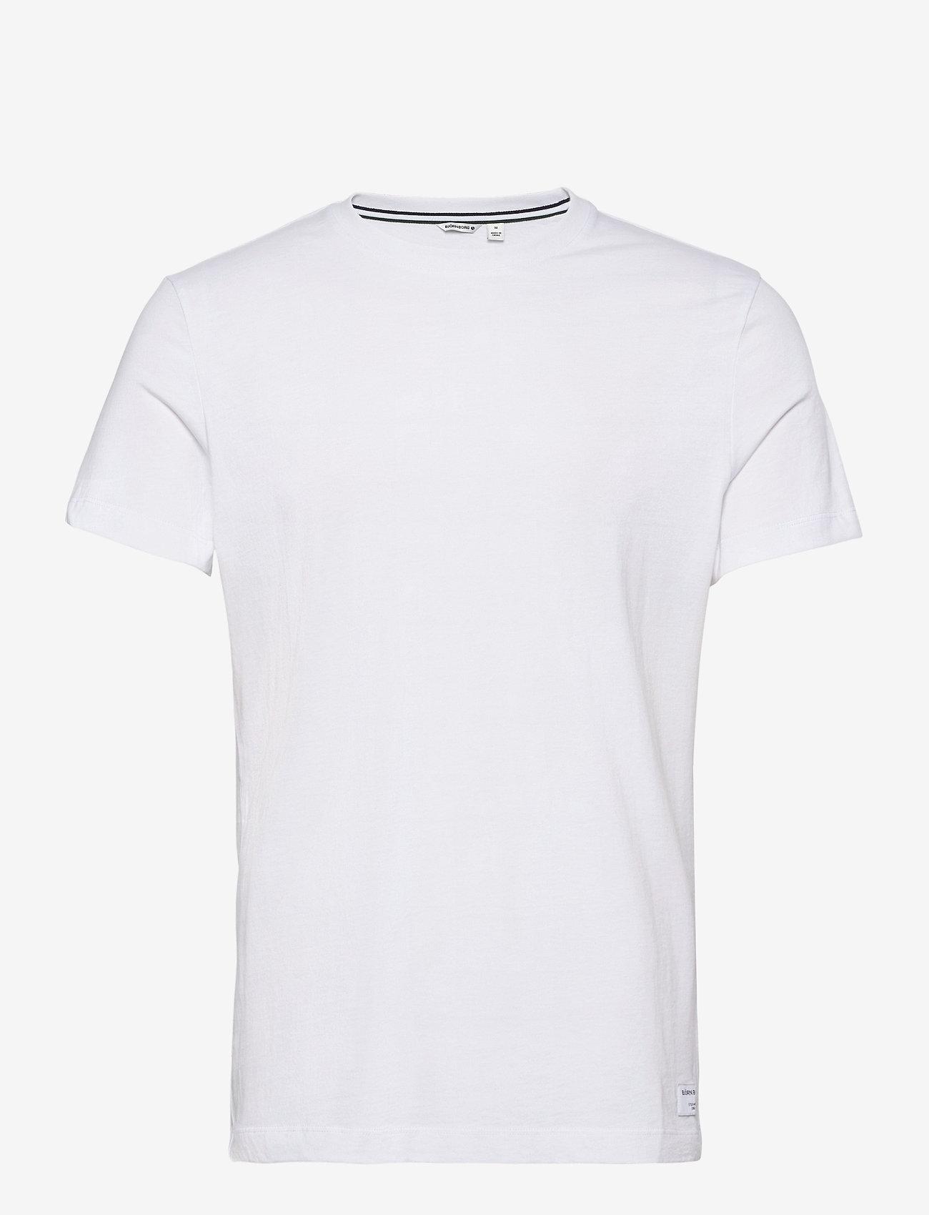 Björn Borg - TEE CENTRE CENTRE - basic t-shirts - brilliant white - 0