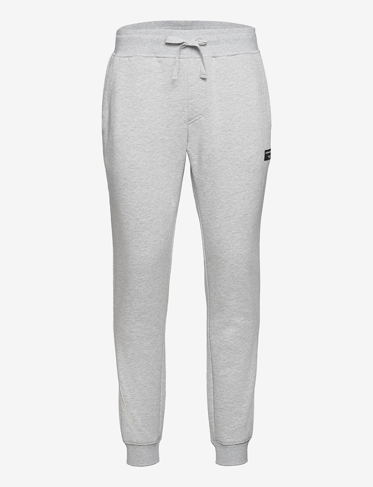 Björn Borg - TAPERED PANT CENTRE CENTRE - joggebukser - h108by light grey melange - 0