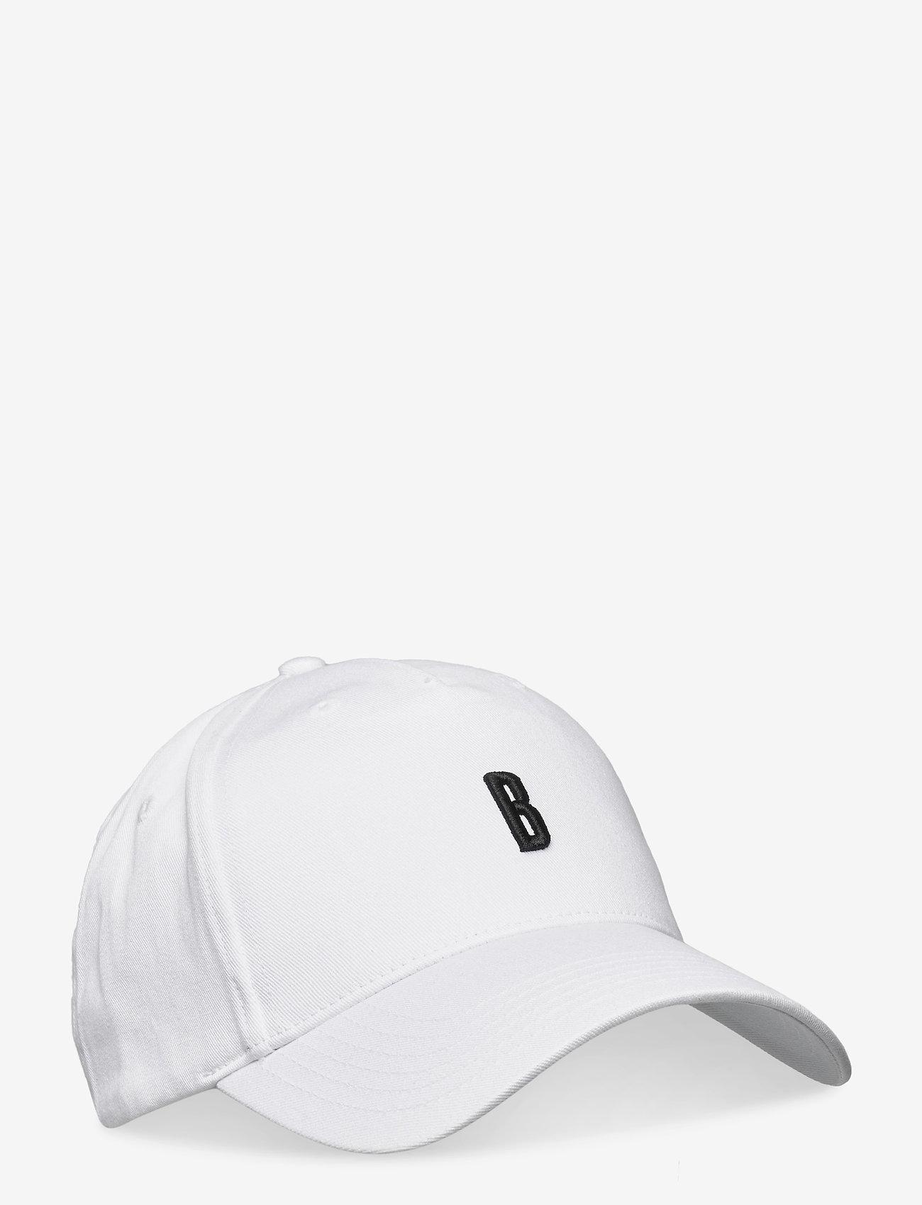 Björn Borg - CAP SPORTSWEAR SPORTSWEAR CAP - caps - white b - 0