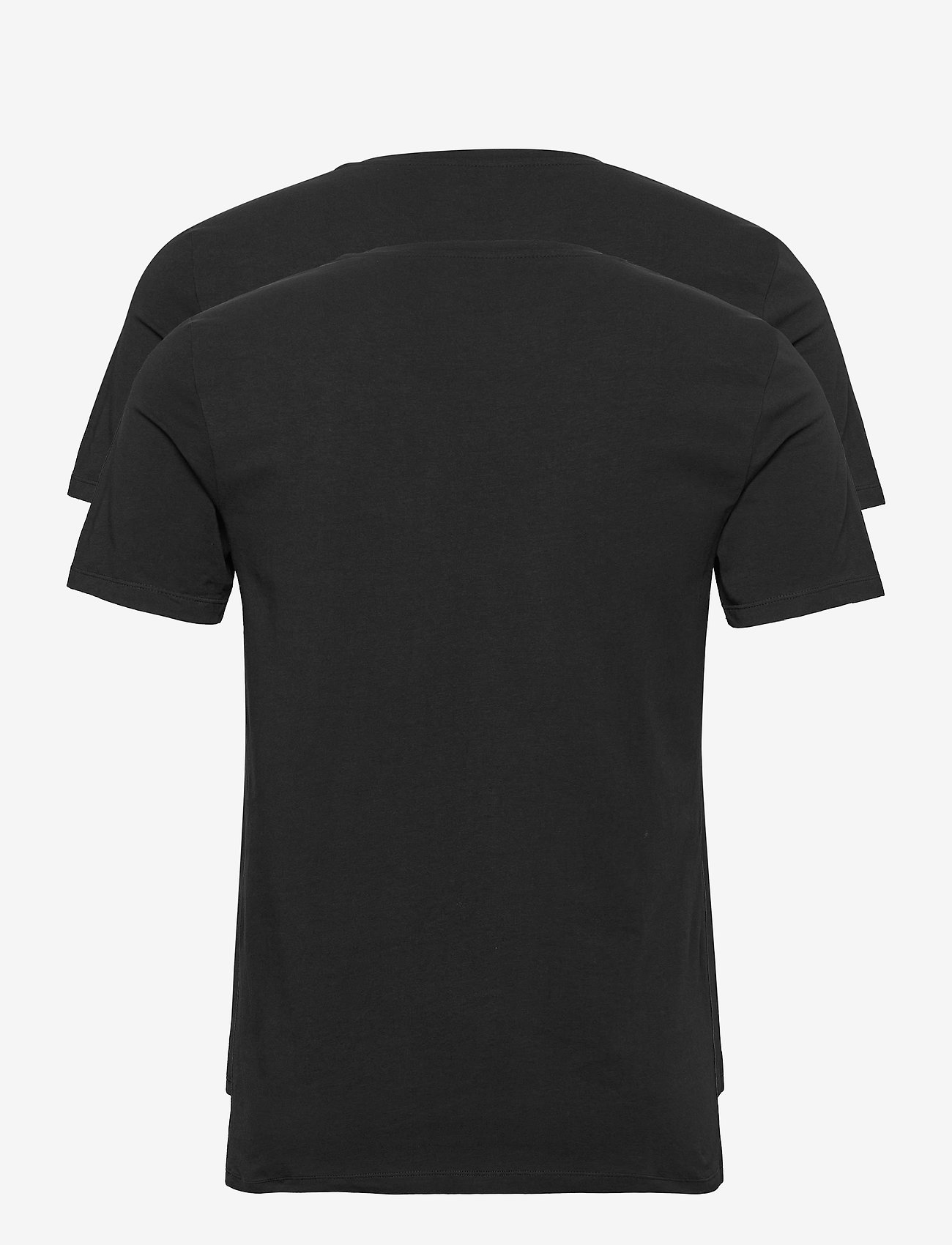 Björn Borg - TEE THOMAS SOLID - basic t-shirts - black beauty - 1