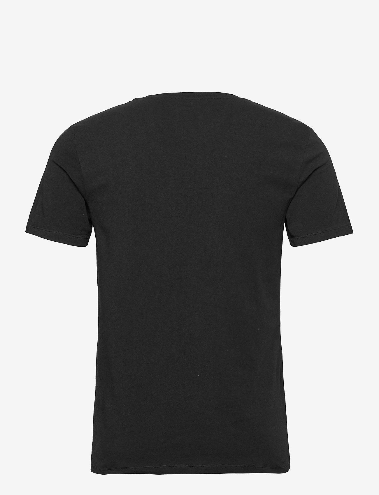 Björn Borg TEE THOMAS SOLID - T-skjorter BLACK BEAUTY - Menn Klær