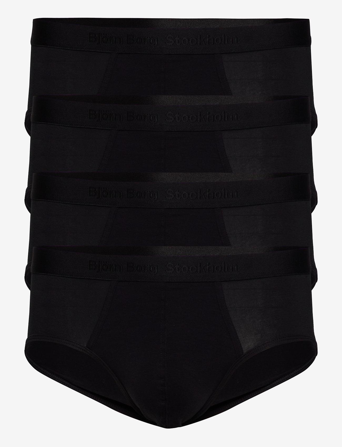 Björn Borg - SHORTS SAMMY SOLID - shorts - black beauty - 0