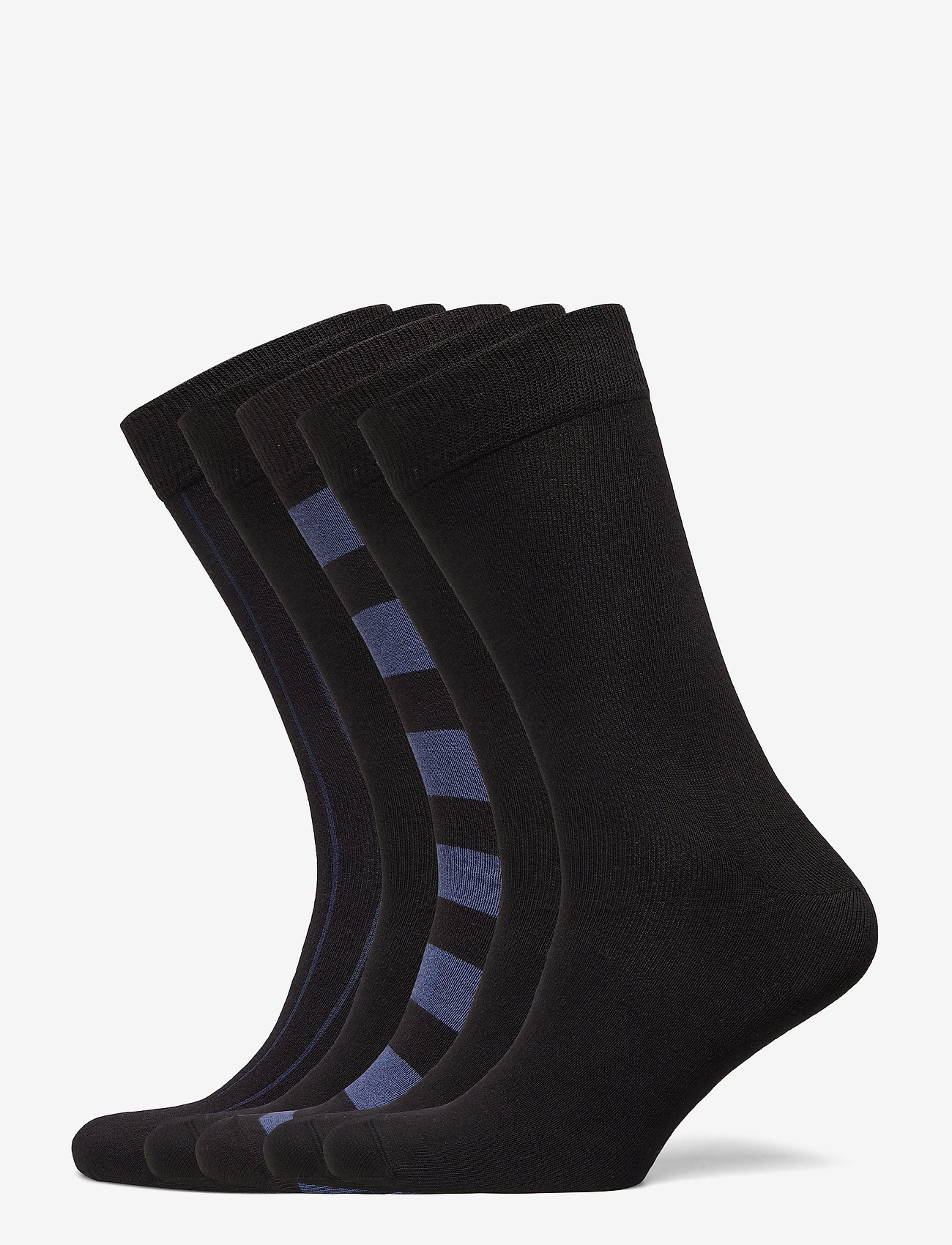 Björn Borg - ESSENTIAL ANKLE SOCK 5p - kousen - black beauty - 0