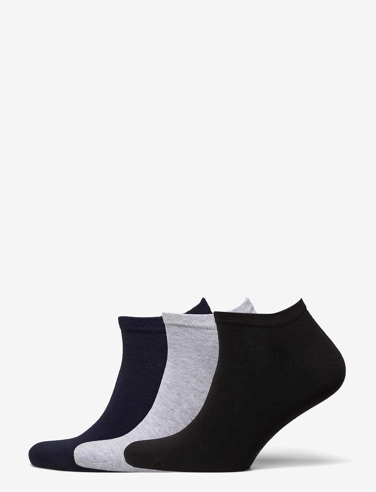 Björn Borg - SOCK STEP SOLID ESSENTIAL - ankle socks - black - 0