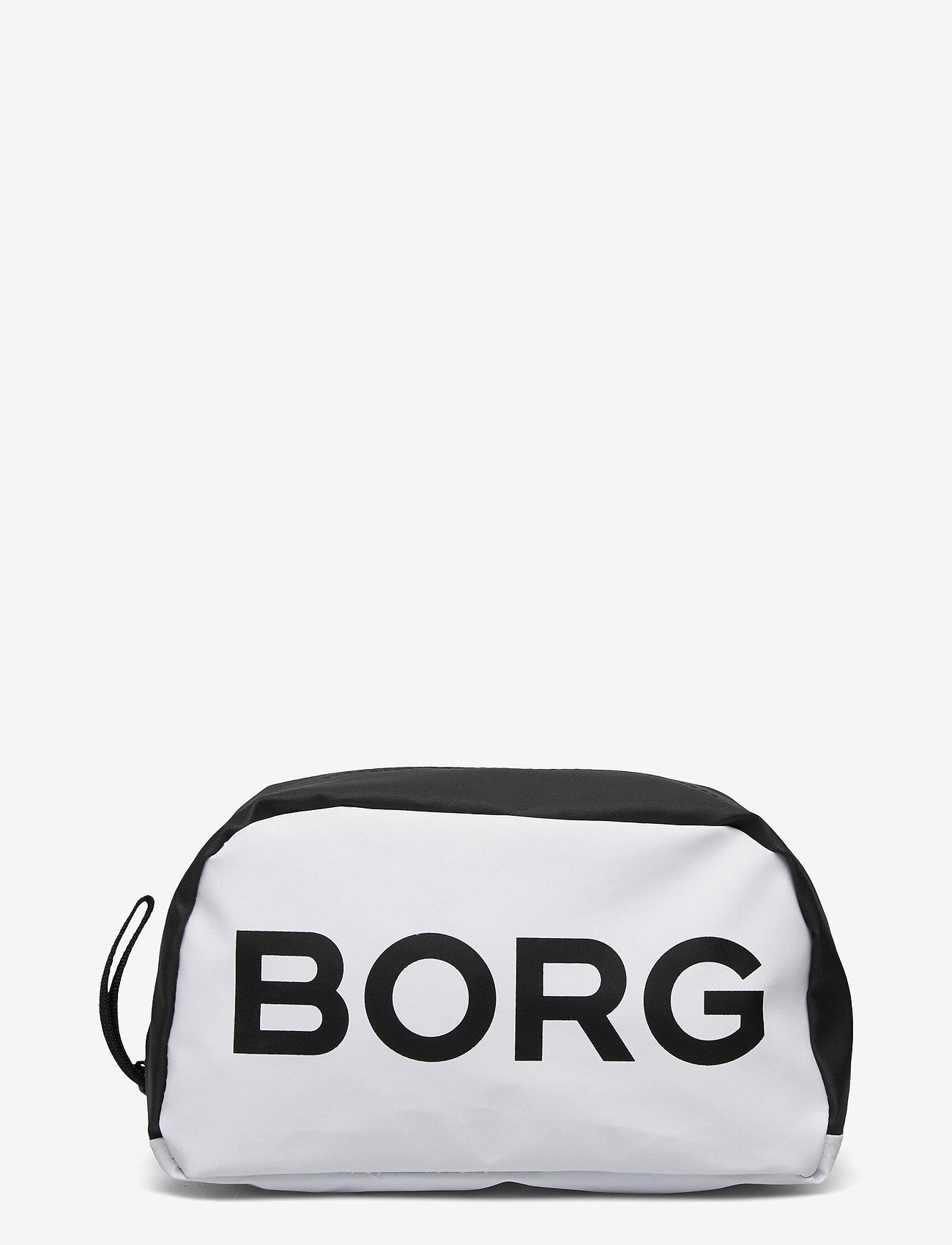 Björn Borg - BORG TOILET CASE - toilettassen - white - 0