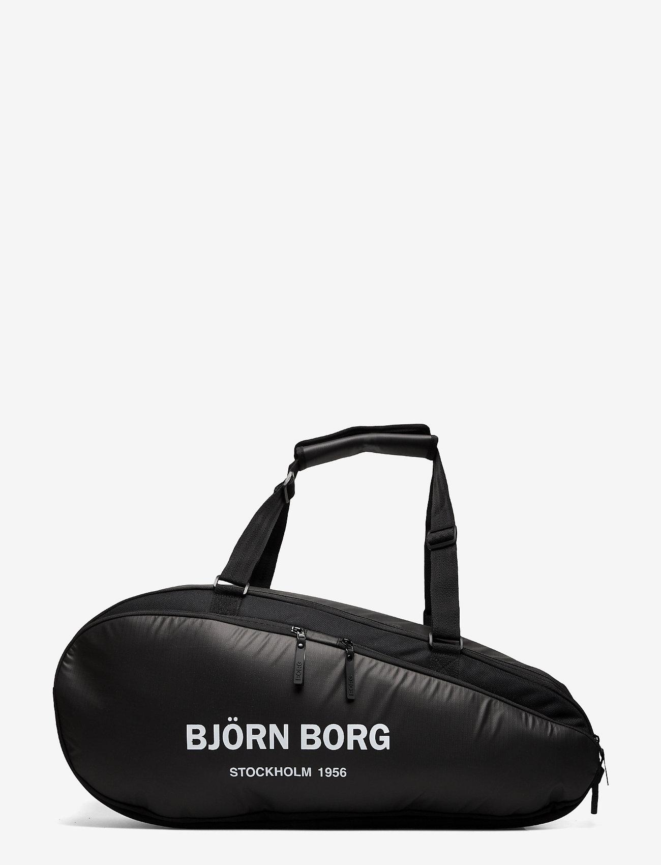 Björn Borg - BJÖRN TENNIS BAG - sacs de sports de raquette - black - 1
