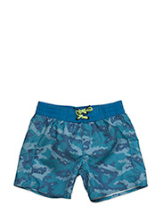 BOYS BOARD SHORTS, BB Water Camo, 1-P - HAWAIIAN OCEAN