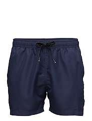 1p SWIM SHORTS SEASONAL SOLIDS - PEACOAT