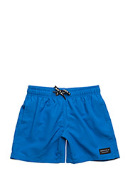 SWIM SHORTS SEASONAL SOLIDS - ELECTRIC BLUE LEMONADE