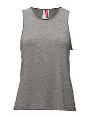 1p TANK SEASONAL SOLID - GREY MELANGE H120AB