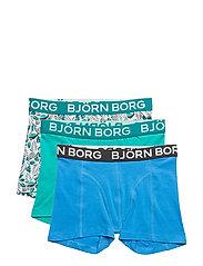 3p SHORTS BB FLAMINGO - DIRECTOIRE BLUE