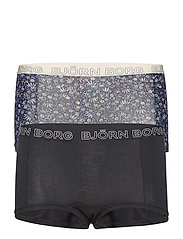 MINISHORTS BB NY FLOWER 2p - PEACOAT