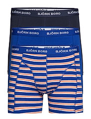 SHORTS BB LA STRIPE 3p - SURF THE WEB