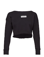 CROPPED CREW CIMMY 1p - BLACK BEAUTY