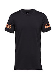 TEE L.A BORG 1p - BLACK ORANGE
