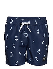 LOOSE SHORTS KENNY 1p - BB LA MINI PALM INSIGNIA BLUE