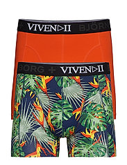 SHORTS BB TROPICALITY 2p - MEDIEVAL BLUE
