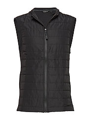 QUILTED VEST ALEXI ALEXI - BLACK BEAUTY