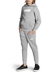 Björn Borg - BORG SPORT PANTS - sweatpants - h108by light grey melange - 4